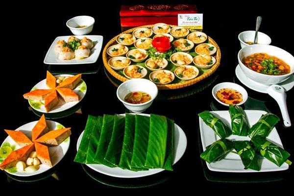 Các loại bánh đặc trưng của xứ Huế