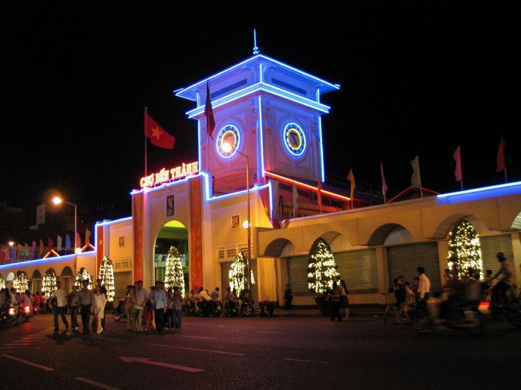 Chợ Bến Thành - Biểu tượng Sài Gòn