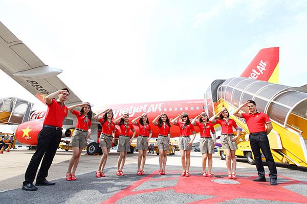 Vé máy bay đi Hà Nội Vietjet Air
