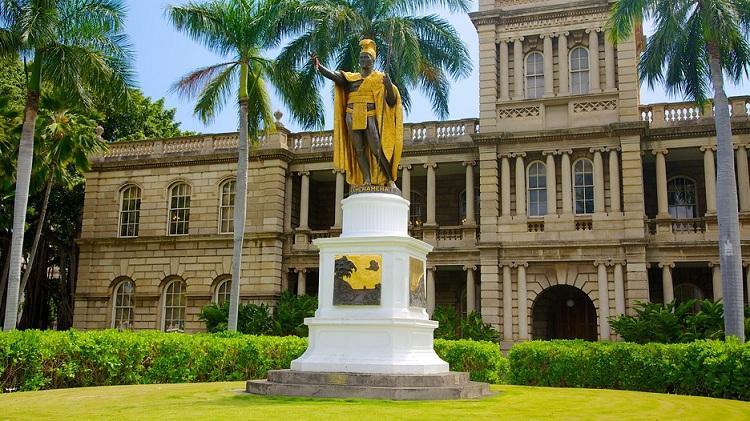 Tượng vua Kamehameha
