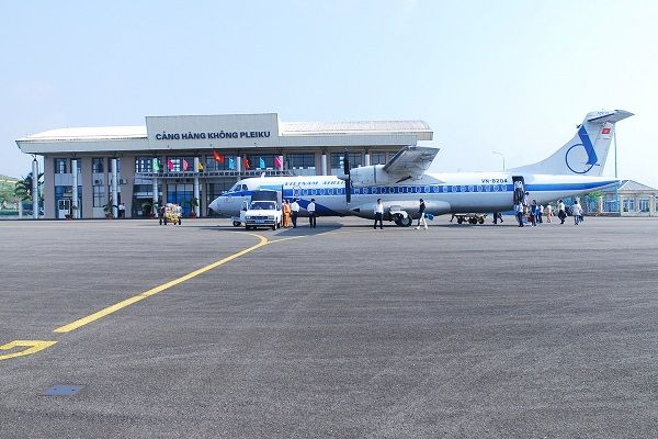 Thời gian bay từ Hà Nội tới Pleiku