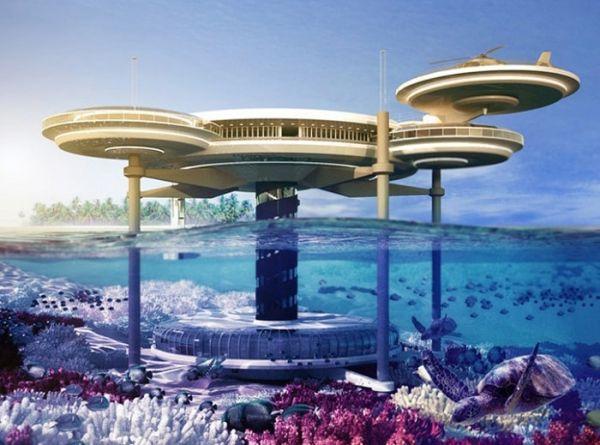 Khách sạn dưới lòng đại dương