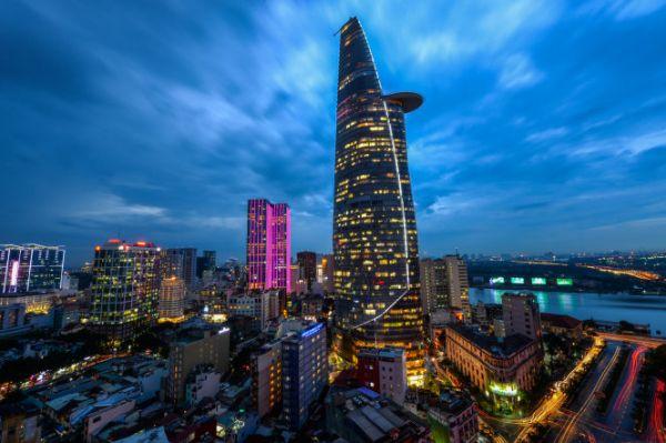 Ngắm toàn cảnh thành phố từ tòa nhà Bitexco