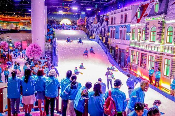 Thị trấn tuyết Snowtown Saigon