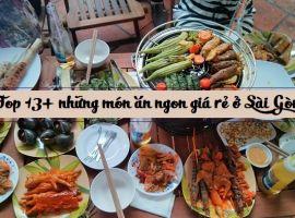 Địa điểm ăn uống ở Sài Gòn
