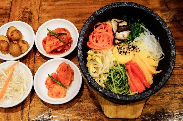 Kimchi Kimchi là địa chỉ chuyên các món ăn Hàn Quốc