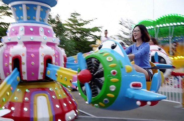 Khu vui chơi ở Sài Gòn